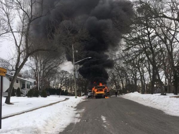 School Bus Fire Reported In Smithtown Kings Park Ny Patch