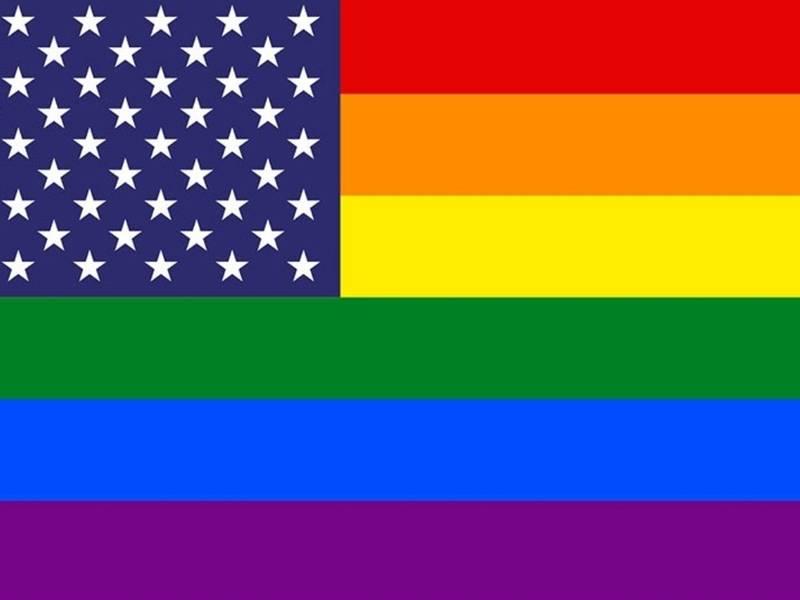 Homosexual pride flag