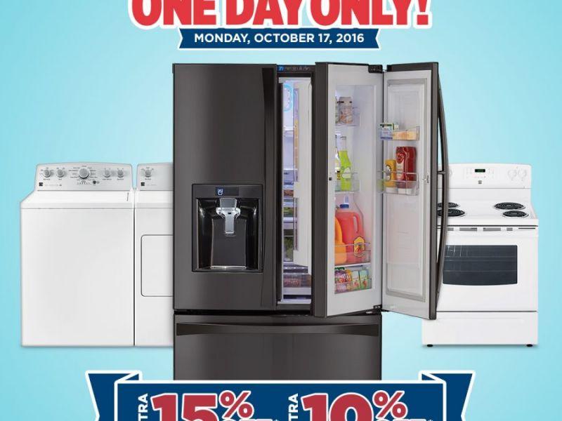 oct 17 sears in turnersville appliance sale - Sears Kitchen Appliances