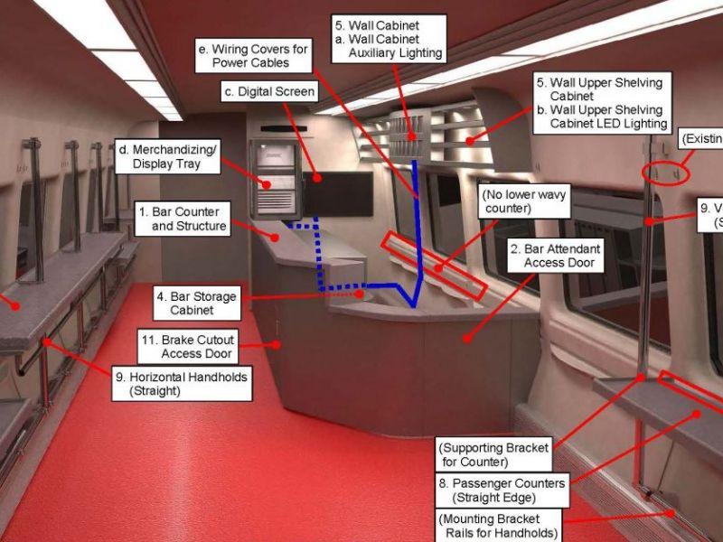 Metro North New Haven Line Bar Cars Set To Return