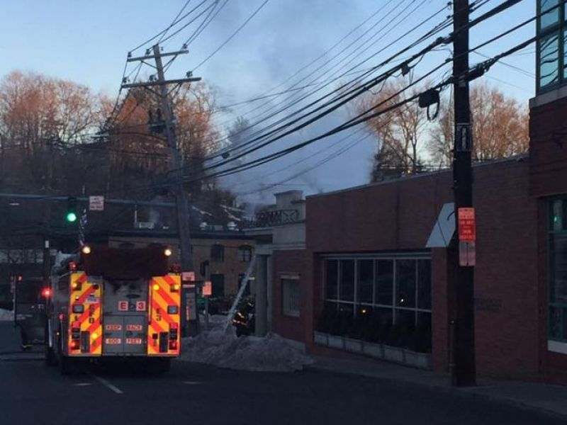 Christmas Tree Recycling Greenwich : Two greenwich fires doused thursday ct patch
