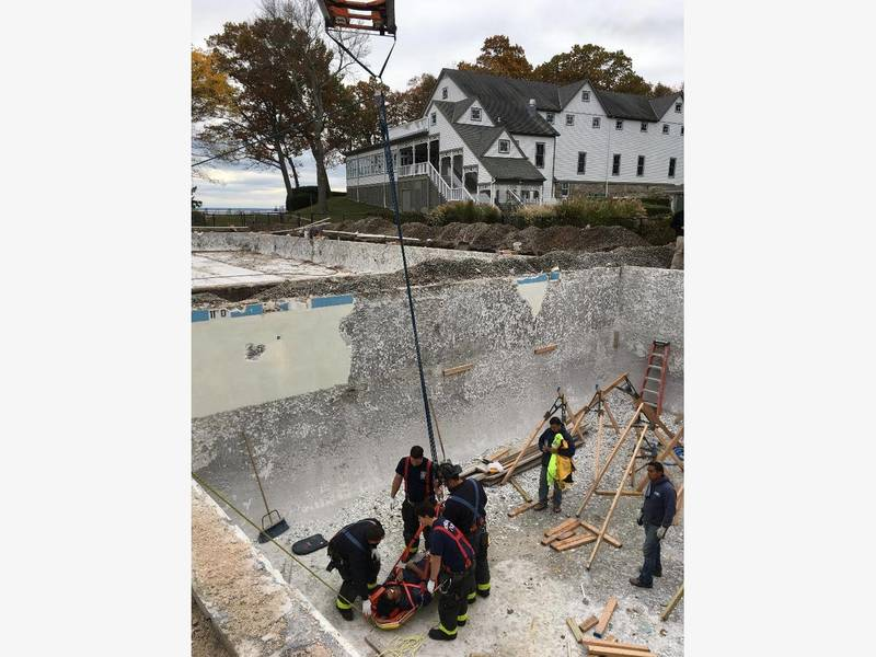 Worker Seriously Injured In Norwalk Fall Norwalk Ct Patch