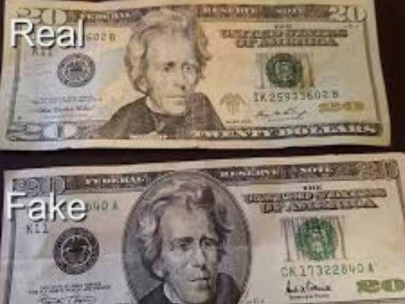 How To Tell If A 20 Dollar Bill Is Fake - New Dollar