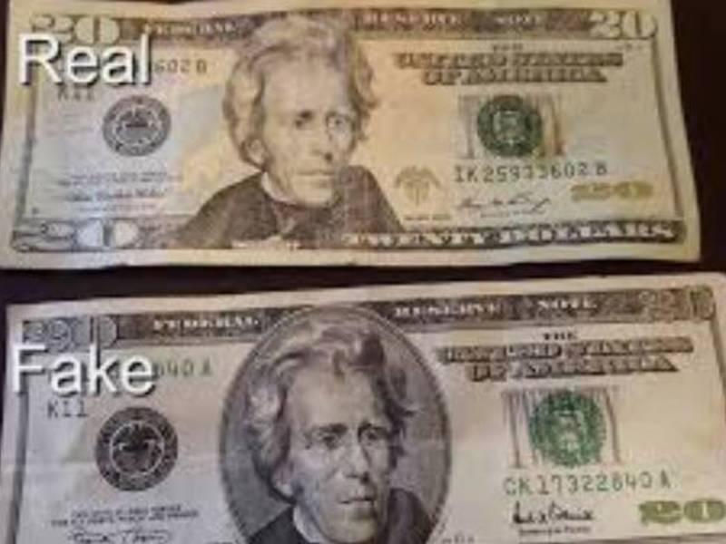 Naugatuck PD Warns Of Fake $20 Bills | Naugatuck, CT Patch