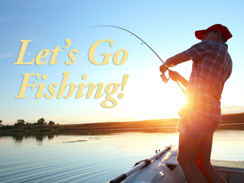 Let 39 s go fishing with the oak lawn pubic library oak for Lets go fishing