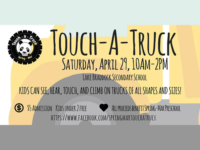 spring mar cooperative preschool mar cooperative preschool touch a truck burke va 885