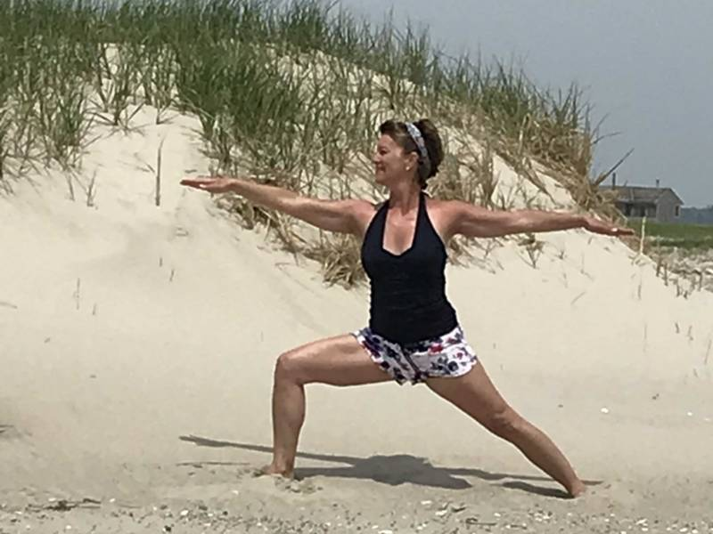 relieve stress and work out in yoga for all levels series