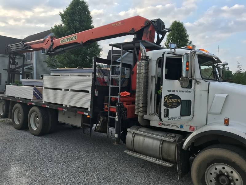 Kamco Supply Donates Building Materials For Housatonic