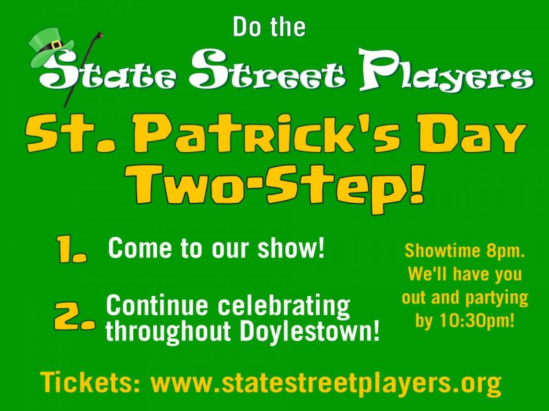 Doylestown Restaurants And Taverns Partner With State Street Players