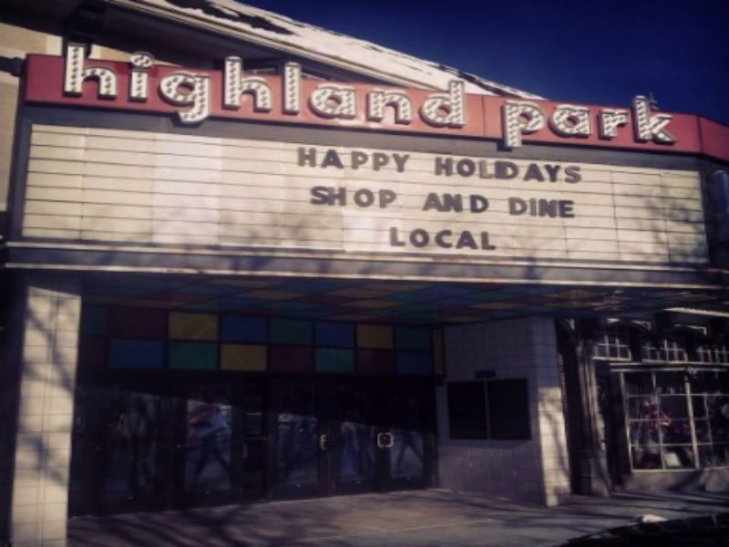 highland park theater sold