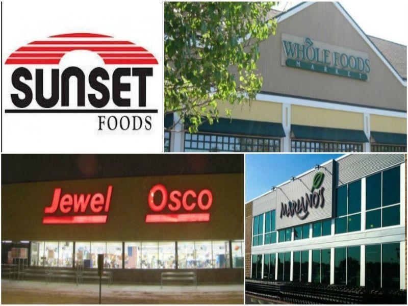 Jewel-Osco, Whole Foods, Fresh Market, Mariano\'s, Heinen\'s ...