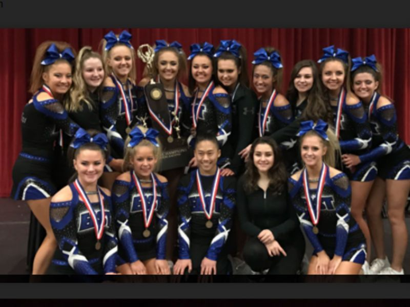 Lincoln Way East Wins State Cheerleading Championship