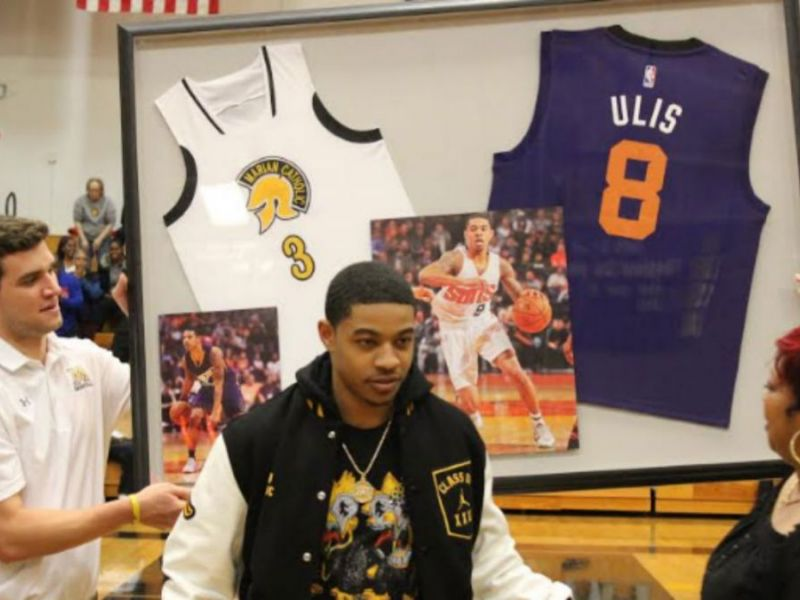 ... Marian Catholic Retires Tyler Ulis  Basketball Jersey - ... 86f61d1ff
