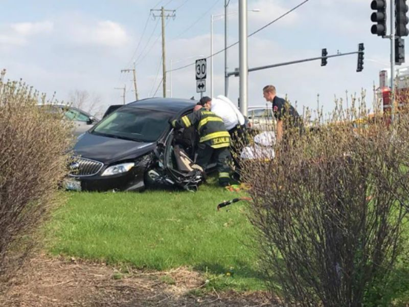 Crash With Injuries at 30 and Wolf | Mokena, IL Patch