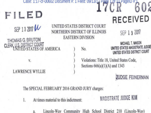 Former Lw 210 Superintendent Lawrence Wyllie Indicted