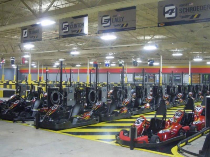 how to build a indoor go kart track