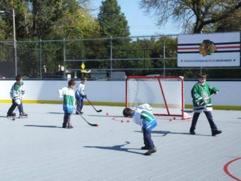 How To Make A Roller Hockey Rink In Your Backyard
