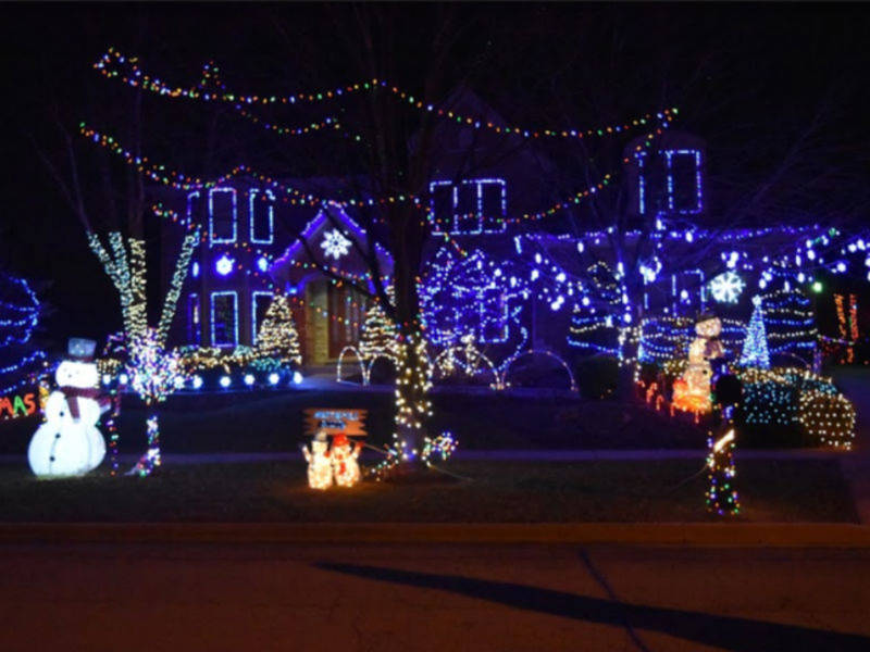Holiday House Decorating Winners Announced   Batavia, IL Patch