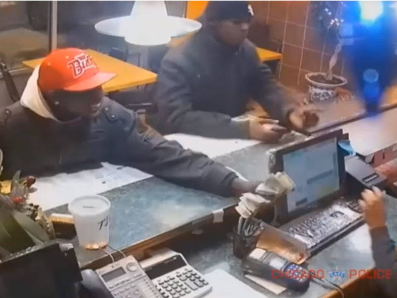 Chinese Restaurant Robbed At Gunpoint (Video)