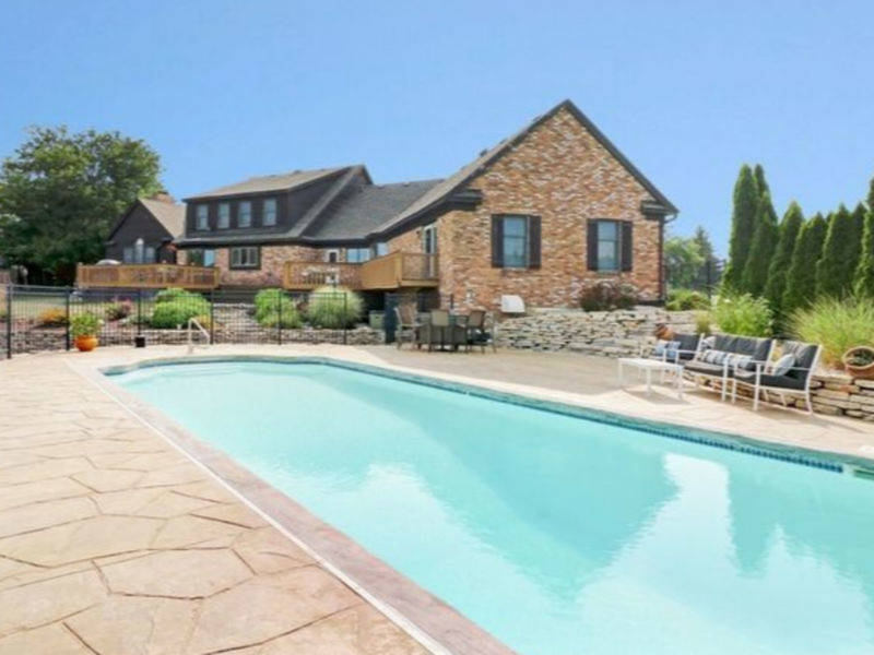 home swimming pools. 6 Mokena Homes With Swimming Pools Going For Less Than $1 Million Home S