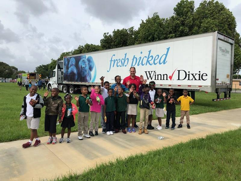 WinnDixie supports Career Day at Bunche Park Elementary Miami FL