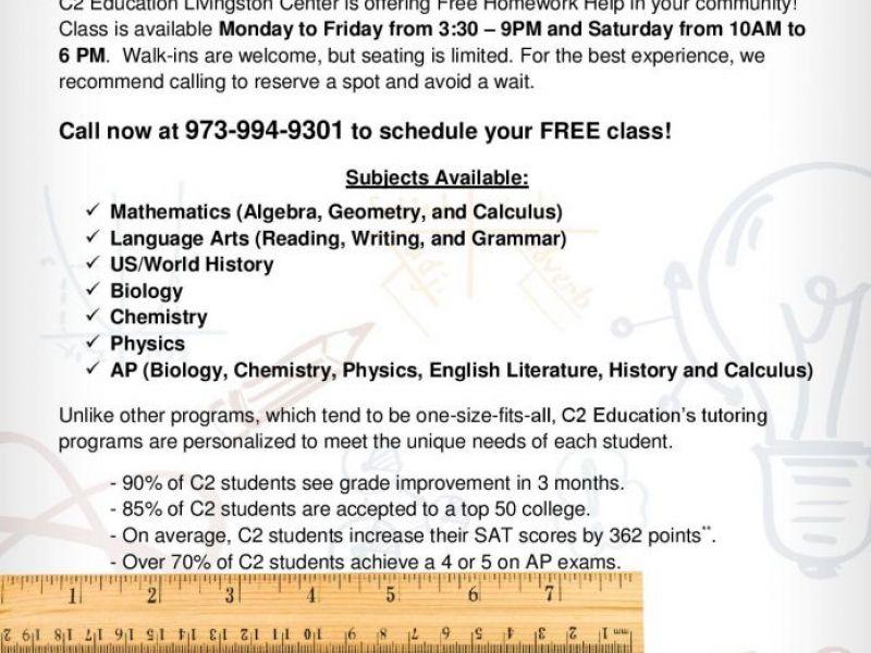 free help with homework