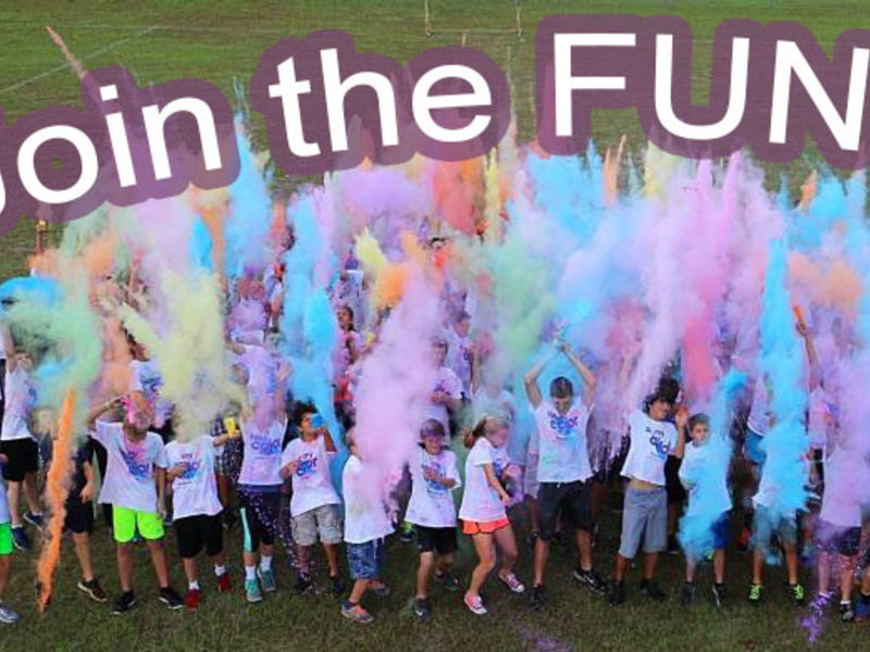 Indian hill school my color run