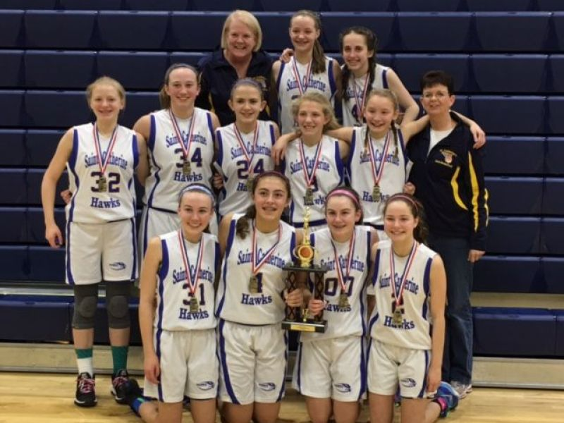 St Catherine School Senior Girls Basketball Team Wins So