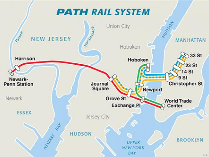 Port Authority To Halt Weekend Train Service On 33rd Street PATH ...