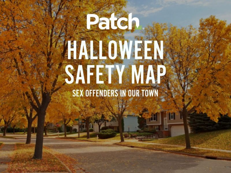 belleville and nutley 2018 halloween offender safety map