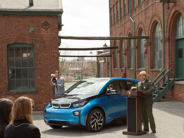 BMW to add 100-ish EV charging stations to national parks - Roadshow