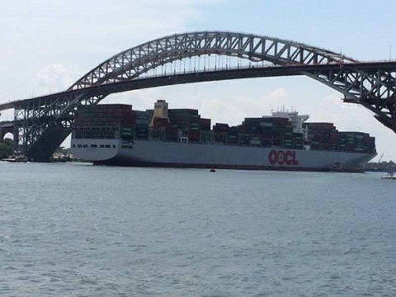 Humongous Ship Cruises Into Newark Bay Sets Record In NJ NY - Cruise ships from new jersey