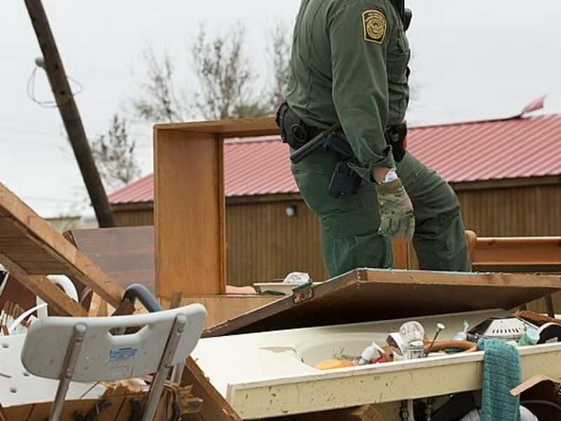 Will the tragic scale of Hurricane Harvey affect a proposed $876 million cut to FEMA's relief funding?