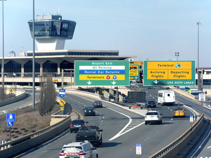 170m newark airport parking complex may make renting cars easier