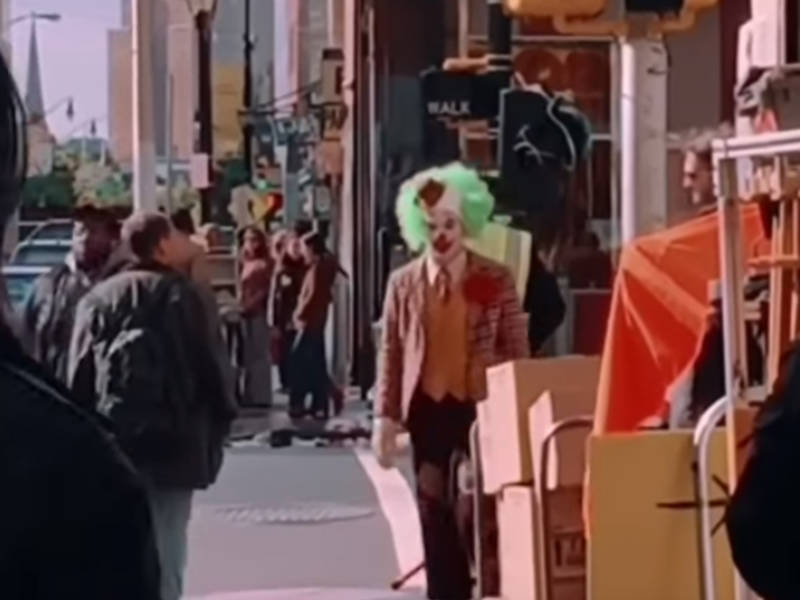 Newark Becomes Gotham City For Joker Movie Videos