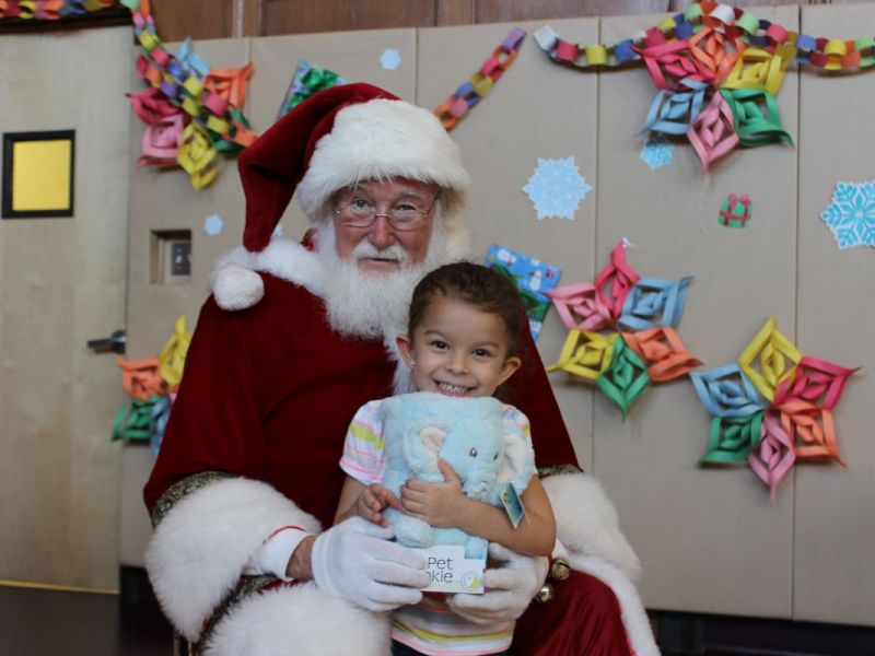 bank of america hosts annual holiday party at franciscan childrens - Bank Of America Christmas Eve Hours