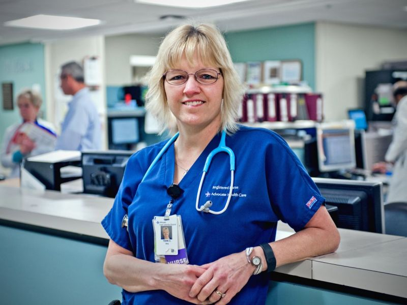 Advocate South Suburban Hospital Nurse Recognized For