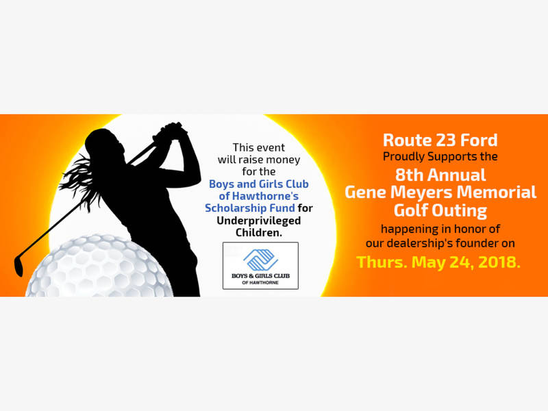 Rt 23 Ford Supports 8th Annual Gene Meyers Memorial Golf Outing