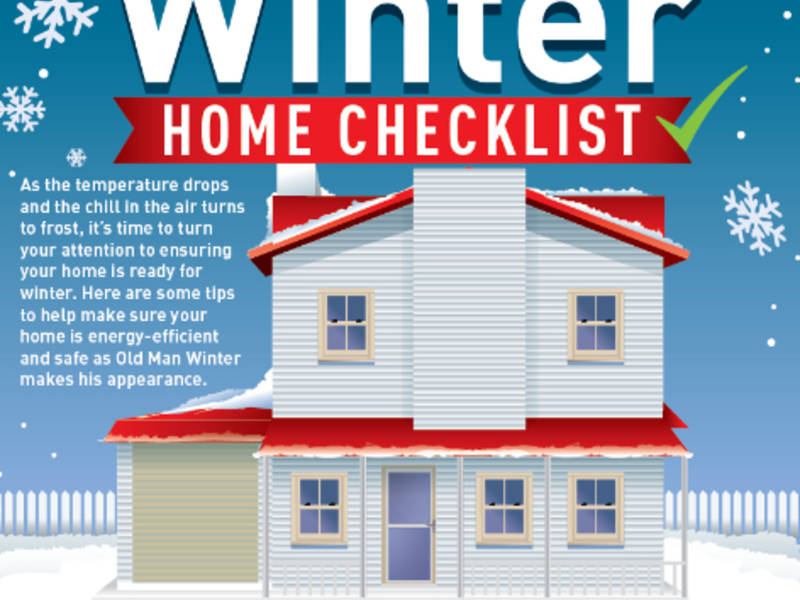Winter Home Maintenance Checklist | Canton, GA Patch on home repair tips, home inspection tips, home repair help, home storage tips, home buying tips, home security tips, home management tips, home recycling tips, home cleaning tips, home marketing tips, home remodeling tips, home safety tips, home improvement, home selling tips, real estate tips, home energy tips, tips for selling your home, home heating tips, photography tips, home fix-it tips, home care tips, home decor tips, home insurance tips, home protection tips, home design tips,