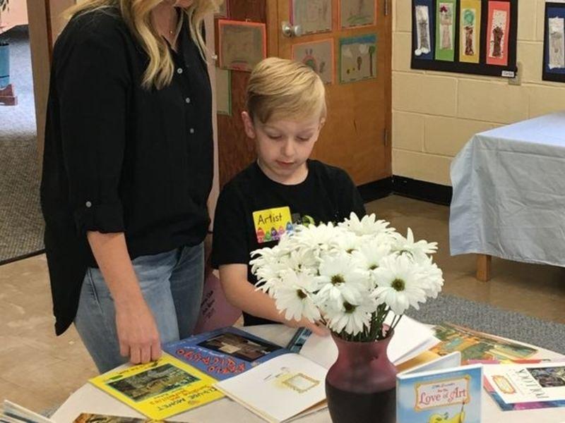 Royersford Baptist Church Nursery School Holds Annual Art Show