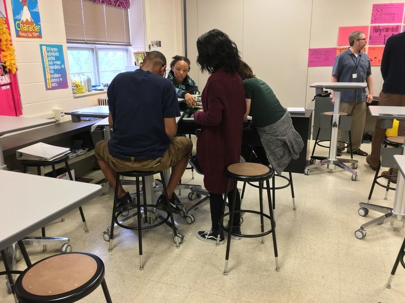 Montco HS Equips Classroom With Standing Desks Touts Student