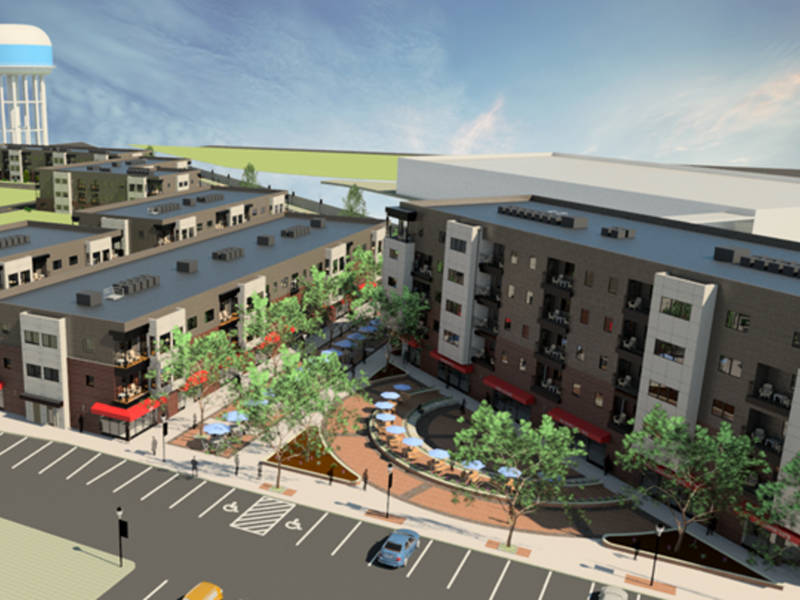 luxury apartment complex. 181 Unit Luxury Apartment Complex Next To Lansdale Train Station Planned
