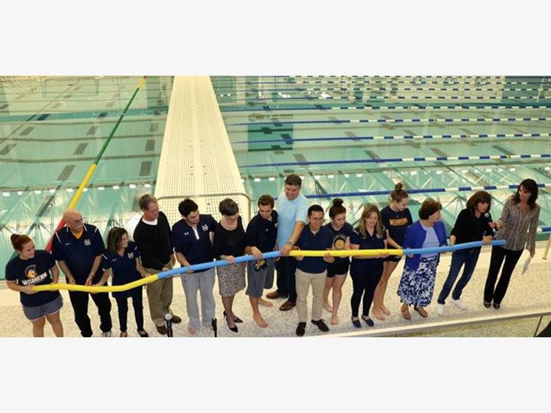 Watch Wissahickon Holds Grand Opening For Natatorium Patch