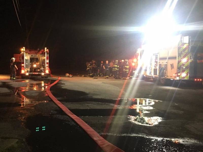 royersford chemical warehouse catches fire saturday night limerick pa patch. Black Bedroom Furniture Sets. Home Design Ideas