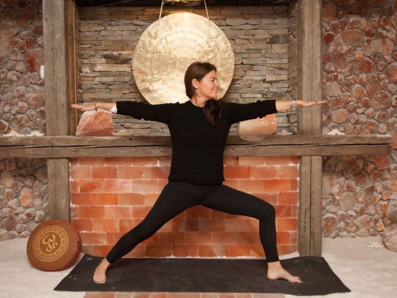 Salt Of The Earth Spa In Woodbury Offering Salt Cave Yoga