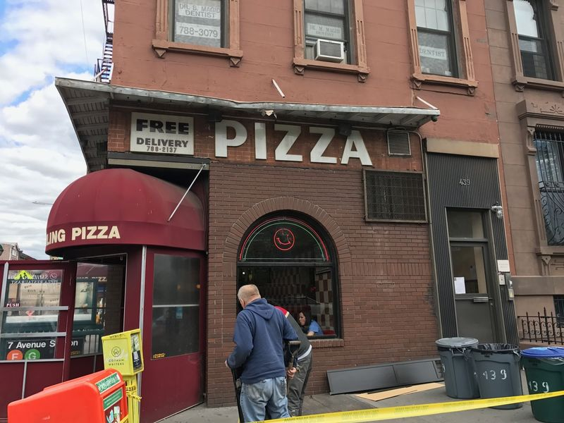 Chunk Of Park Slope Building Breaks Off Crashes Through
