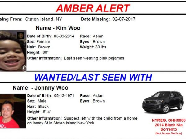 Kim Woo Kidnapped 2 Year Old Found Safe In The Bronx
