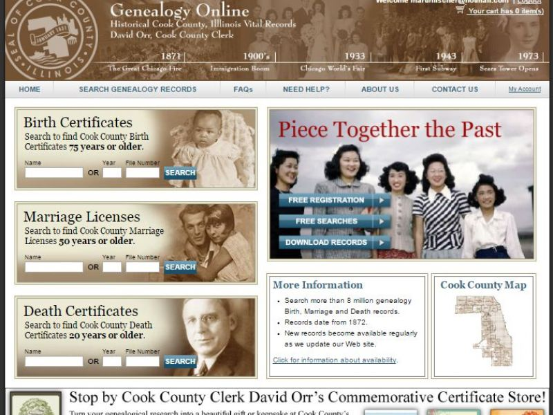 Using Cook County Vital Records Topic Of Presentation At March 19