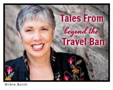 "Storyteller Milbre Burch presents ""Tales from Beyond the Ban"""