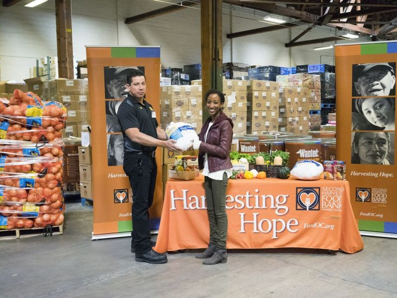 Second Harvest Food Bank Of Orange County Receives Significant